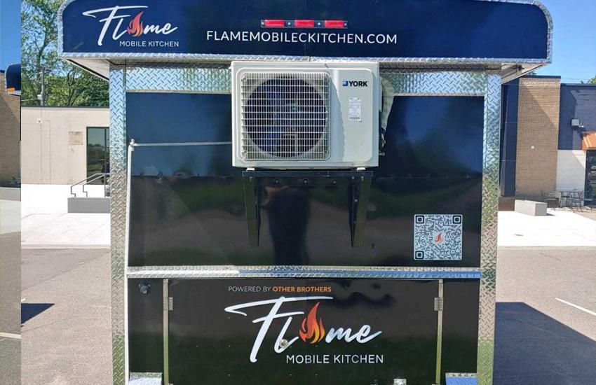 Flame Mobile Trailer